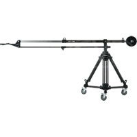 Libec SWIFT JIB50 KIT (SWIFTJIB50-KIT) Swift Jib 50 kit- includes SWIFT JIB 50, T102B tripod and DL-8B dolly + padded carrying cases