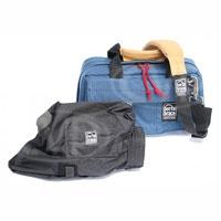 Portabrace CS-DV2UQS-M2 (CSDV2UQSM2) Mini DV Camera Case w/ Mini-Quick Slick (internal dimensions: 35.56 x 17.78 x 17.78 cm)