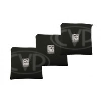 Portabrace PB-B93 (PBB93) 9x9 inch Zippered Padded Pouches- Set of 3
