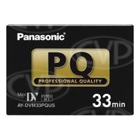 Panasonic AY-DVM33PQ (AYDVM33PQ, AY-DVM33PQUS, AYDVM33PQUS) Mini-DV Professional Quality Cassette - 33 Minutes