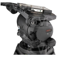 Vinten V4006-0001 (V40060001) Vector 430 Head, with EFP Quickfit Automatic Adaptor (3761-3) and Camera Plate