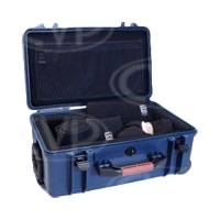 Portabrace PB-2550DK (PB-2550) Superlite Hard Case with Interior Divider Kit System (internal dimensions: 43.18cm x 22.23cm x 15.24cm) (blue)