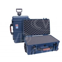 Portabrace PB-2550F (PB-2550) Wheeled Vault Case with foam interior - Interior size 50.8 x 28.5 x 19cm (20 x 11.2 x 7.5 in)