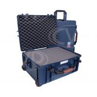 Portabrace PB-2650F (PB-2650) Wheeled Vault Case with foam interior - Interior size 48.26 x 35.56 x 20.96cm (19 x 14 x 8.25 in)