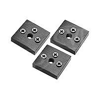 Marshall Electronics V-LCD70TMB-02 (VLCD70TMB02) Set of 3 Tripod Mount Brackets with Screws and 1.4-20 Threads