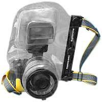 Ewa-Marine D-AX (DAX) Digital Stills Underwater Housing - allows use of a mounted flash unit