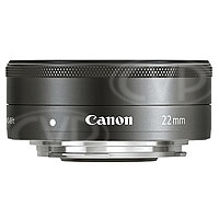 Canon EF-M 22mm f/2 STM Pancake Lens for the Canon EOS-M Camera (p/n 5985B005AA)