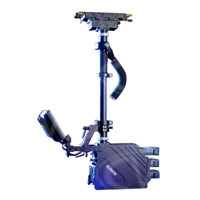 Glidecam GLGDSAB (GL-GDSAB) Gold Sled with Anton Bauer base for cameras up to 38lbs, 12/24 volt power
