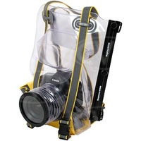 Ewa-Marine U-BXP (UBXP) Underwater SLR Camera Housing - for large bodied SLR (Canon EOS 1, Nikon D2, D3), allows for hot-shoe mounted flash
