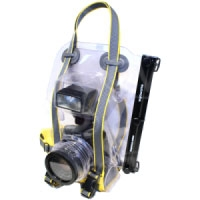 Ewa-Marine U-BXP-100 (UBXP100) Underwater SLR Camera Housing- for large bodied SLR (Canon EOS 1, Nikon D2, D3) with 77mm and 82mm lenses allows for hot-shoe mounted flash