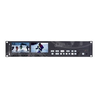Datavideo DATA-VSM100 (DATAVSM100) VSM-100 2U Rackmountable Monitoring Vectorscope