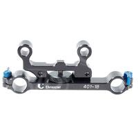Chrosziel 401-18 (40118) Adaptor 15:15mm- offset, adjustable adaptor for BridgePlate with 15mm rods