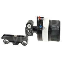 Chrosziel 206-60S (20660S) DV Studio Rig Plus - Follow Focus with Non-slip Padded Hand Wheel