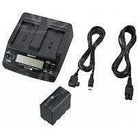 Sony ACC-L1BP (ACCL1BP) NP-F970 Battery and AC-VQ1051D Adaptor/Charger Kit