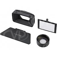 Sony VCL-HG0872K (VCLHG0872K) Wide Angle Conversion Lens with lens hood for HVR-Z5E / HXR-NX5E and DSR-PD175P