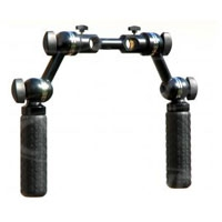 Movie Camera Support MCS-B002 (MCSB002) Universal Camera Handle Kit (moose bars) for 15mm lightweight rods