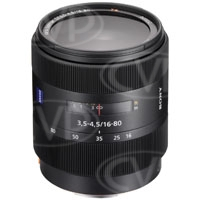Sony 16-80mm f3.5-4.5 ZA Vario-Sonnar T* DT Lens by Carl Zeiss - A Mount (p/n SAL-1680Z)