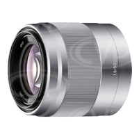 Sony 50mm f1.8 OSS Portrait Lens (Silver) - Sony E Mount (p/n SEL50F18.AE)