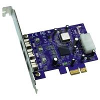 Sonnet SON-FW800-E (SONFW800E) Allegro FW800 FireWire 800 3-Port PCIe Card