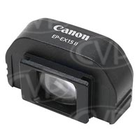 Canon EP-EX15II (EPEX15II) Camera Eyepiece Viewfinder Extender - Compatible with all EOS cameras except 1 series and 7D (Canon p/n 3069B001AA)