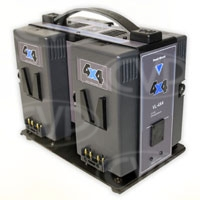Hawk-Woods VL-4X4 (VL4X4) 4-Channel Simultaneous V-Lok Charger for Hawk-Woods V-Lok Lithium-Ion Battery Range