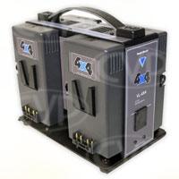 Hawk-Woods VL-4X4 (VL4X4) 4-Channel Simultaneous V-Lok Charger for Hawk-Woods V-Lok Lithium-Ion Battery Range