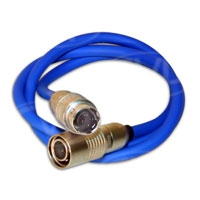 Hawk-Woods LA-19 (LA19) Hirose (M) to Hirose (F) Inline cable (45cm)