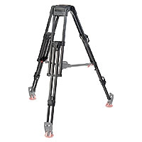 OConnor 60L Carbon Fiber Tripod Only (150mm) (Requires Mid-Level Spreader & Rubber Feet) (p/n C1255-0001)