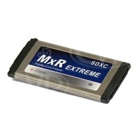 e-films MxR Extreme Expresscard Adapter for Sony EX1/EX3/EX1R/PMW-350 (includes case) - EF-1701