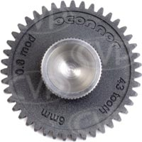 OConnor Driver Gear - 43 Tooth 0.8M 6mm Face Cine for CFF-1 Follow Focus One System (p/n C1241-1600)