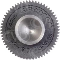 OConnor Driver Gear - 60 Tooth 0.5M 7.5mm Face Canon ENG Focus for CFF-1 Follow Focus One System (p/n C1241-1900)