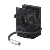 Sony BKW-R4 (BKWR4) V-Mount Dual Battery Adaptor for F65 Digital Camera and SR-R4 Portable Memory Recorder