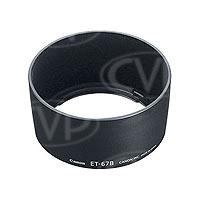 Canon ET-67B (ET67B) Lens Hood for EF-S 60mm f/2.8 USM Macro lens (Canon p/n 0343B001AA)