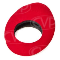 Cineroid ECR Soft Eyecup Cover for EVF Viewfinder and 3-inch LCD Loupe (Red)