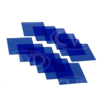 Dedolight DGB Gel Filter Set Full Blue fits the DFH filter holder (classic Dedolight) 12 Gels