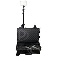 Datavision DVS-LEDGO-RK (DVSLEDGORK) LEDGO-RK 3 Light Reporter Kit includes B150 Lights (x3), Stands (x3) and Carrying Case