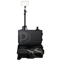 Datavision DVS-LEDGO-RKBC (DVSLEDGORKBC) LEDGO-RKBC 3 Bi-Colour Light Reporter Kit includes 3x B160C Lights, 3x Stands and Carrying Case