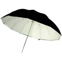 Gekko 48-inch 2-in-1 Black/White and Translucent Jumbo Umbrella (GRU-06)