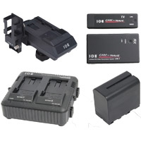 IDX CW-1ST (CW1ST) Sony L Series Battery, Charger, Transmitter and Receiver Package