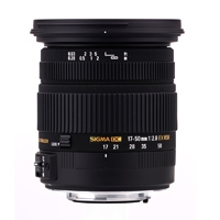 Sigma (583954) 17-50mm f/2.8 EX DC IF OS HSM Lens for Canon EOS DSLRs (EF)