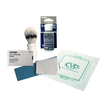 CVP Camera Care Kit - Contains Lens Cleaning Tissues, Fluid, Selvyt Cloth and Dewitts Brush