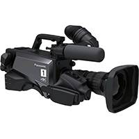 Panasonic AK-UC3000 (AKUC3000) 4K/HD Studio Handy Camera with a Newly Developed MOS Sensor, Enhanced Shockless Gain and B4 Lens Mount (Body Only)