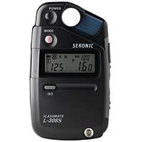 Sekonic L-308S (L308S) Flashmate Pocket-Sized Digital Light Exposure Meter