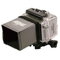 Hoodman H200 (H-200) LCD Adhesive velcro Sunshade for GoPro Camera