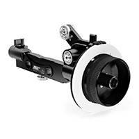 ARRI FF-4 (FF4) Studio Follow Focus Basic Unit for Film and Cine-style Lenses includes Focus Knob Left (K4.47589.0) & Marking Disk Flat (K4.32713.0) - Black (K2.65221.0)