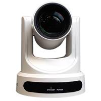 PTZOptics PT20X-SDI-WH-G2-G (PT20XSDIWHG2G) 1080p Broadcast and Conference Camera with 20X Optical Zoom, 3G-SDI, HDMI, CVBS, IP Streaming and 60.7 Degree Wide Angle Lens (G Style Power Supply) - White