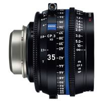 Zeiss CP.3 XD 35mm T/2.1 Compact Prime Cine Lens - PL Mount | Available in Feet or Metre Scale (2177-894 / 2177-889)