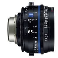 Zeiss CP.3 XD 85mm T/2.1 Compact Prime Cine Lens - PL Mount | Available in Feet or Metre Scale (2178-028 / 2177-953)