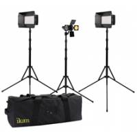 Ikan MB-2Q1Z (MB2Q1Z) Mylo Macro 3-Point LED Light Kit