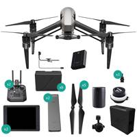 DJI Inspire 2 RAW Quadcopter Premium Combo with Zenmuse X5S, CrystalSky Monitor, Cendence Remote Controller and TB50 Battery